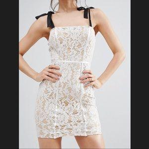 ASOS Lace Bodycon Dress!